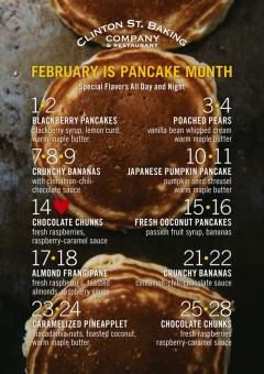 Pancake Month 2011