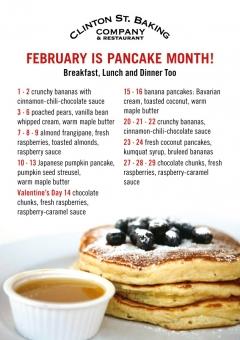 Pancake Month 2012
